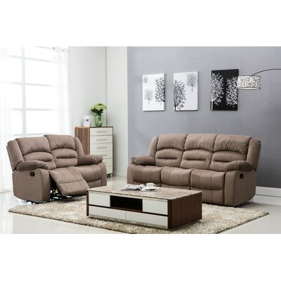 Vermont Recliner Sofa and Loveseat Set
