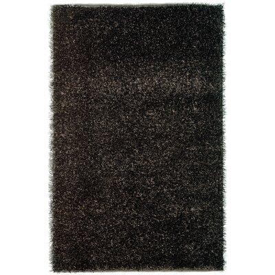 Sara Black Rug Rug Size: 8 x 11
