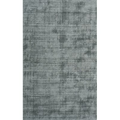 Hyannis Hand Woven Charcoal Area Rug Rug Size: 96 x 13