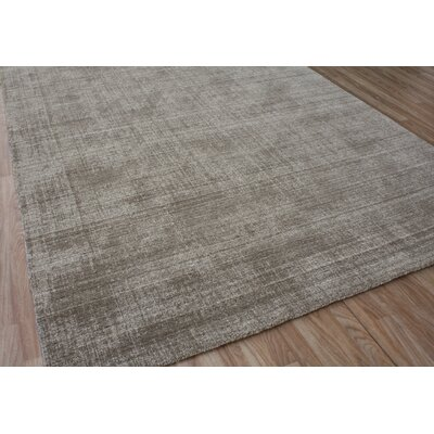Hyannis Hand-Woven Wool Brown Area Rug Rug Size: 8 x 10