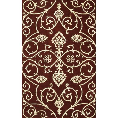 Amber Burgundy/Gold Area Rug