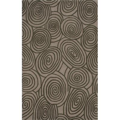 Beverly Beige & Brown Shag Area Rug Rug Size: 5 x 8