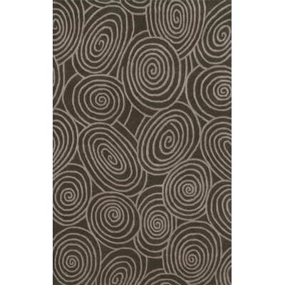 Beverly Brown & Beige Shag Area Rug Rug Size: 5 x 8