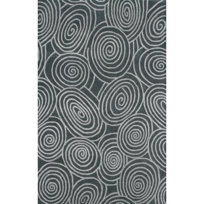 Beverly Gray Area Rug Rug Size: 5 x 8