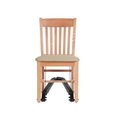 Mobility Assist Upholstered Dining Chair Finish: Natural