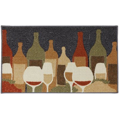 Loop Print Base Wine Play Printed Doormat