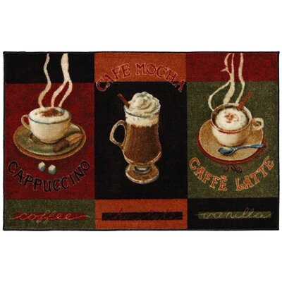 New Wave Kitchen Caffe Latte Area Rug Rug Size: 2'6