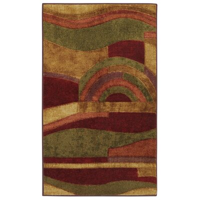 Jeanie Wine Area Rug Rug Size: Rectangle 39 x 58