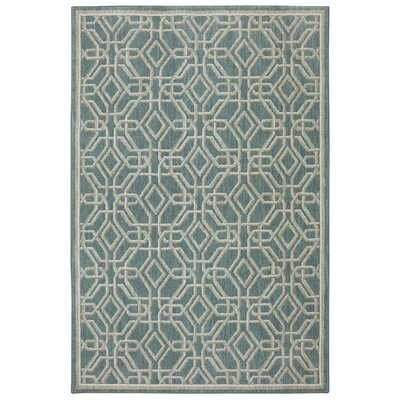 Reflections Bob Timberlake Abbott Bay Blue Area Rug Rug Size: Rectangle 53 x 710