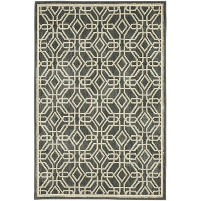 Reflections Bob Timberlake Abbott Abyss Gray Area Rug Rug Size: Rectangle 8 x 10