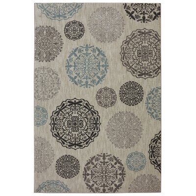 Reflections Bob Timberlake Dragonfly Medallion Abyss Area Rug Rug Size: 5'3