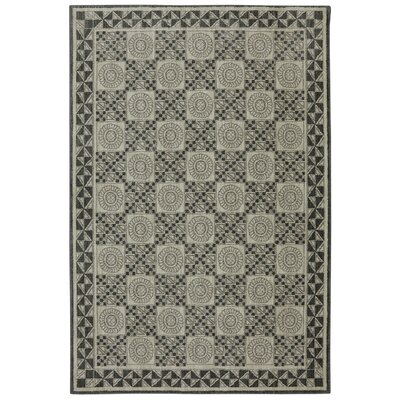 Reflections Bob Timberlake Rowan Abyss Blue Area Rug Rug Size: 5'3