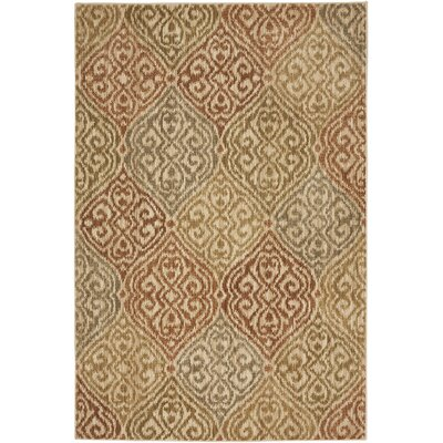 Heritage Bob Timberlake Etchings Light Camel Area Rug Rug Size: 53 x 710