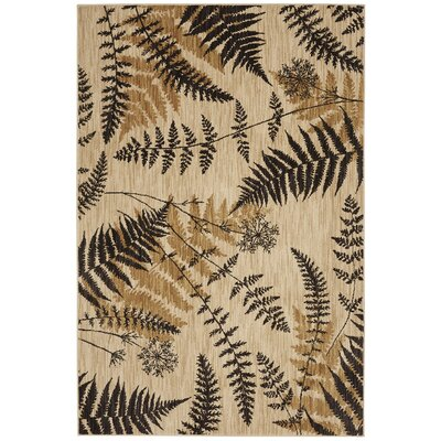 Heritage Bob Timberlake Blue Ridge Ferns Light Camel Area Rug Rug Size: 8' x 10'