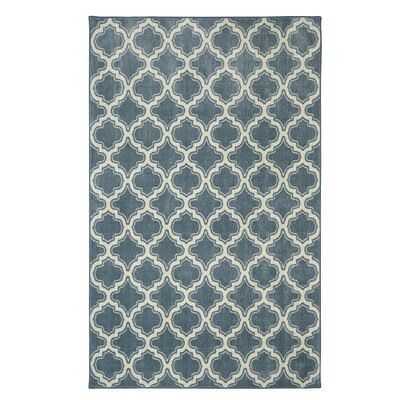 Latimer Blue Area Rug Rug Size: Rectangle 5 x 8