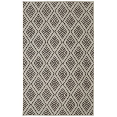 Brodec Cream Area Rug Rug Size: 5 x 7