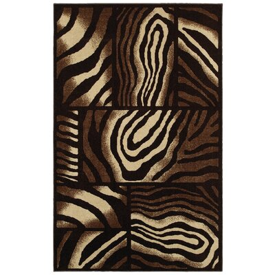 New Wave Brown Area Rug