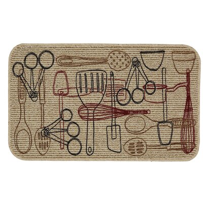 Utensils Kitchen Mat