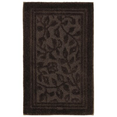 Wellington Bath Rug Size: 24 W x 40 L , Color: Chocolate