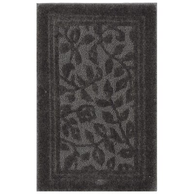 Wellington Bath Rug Size: 30 W x50 L , Color: Gray