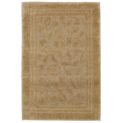 Wellington Bath Rug Size: 24 W x 40 L , Color: Sand