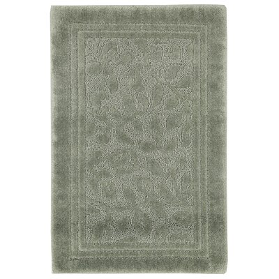 Wellington Bath Rug Size: 24 W x 40 L , Color: Sage Green