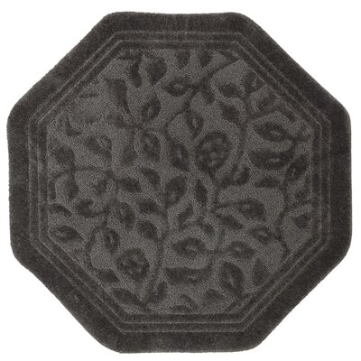 Pondsdale Bath Rug Color: Burgundy, Size: 48 x 48