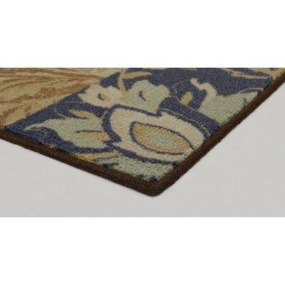 Soho Gwendolyn Blue/Brown Area Rug Rug Size: 5 x 7