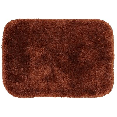 Spa Bath Rug Size: 2 x 5, Color: Brick