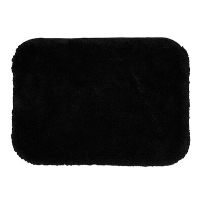 Spa Bath Rug Size: 18 x 210, Color: Ebony