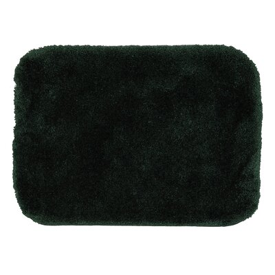 Spa Bath Rug Size: 18 x 210, Color: Forest Green