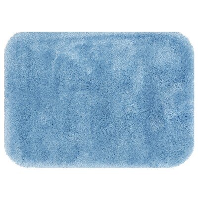 Spa Bath Rug Size: 15 x 2, Color: Blue