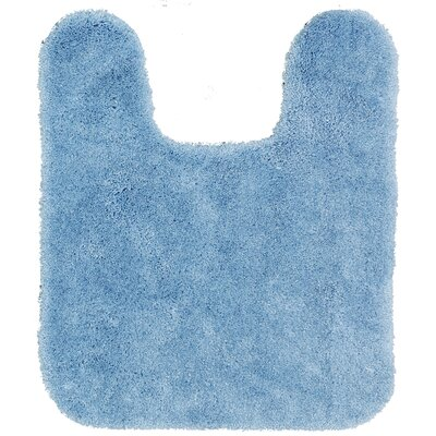 Spa Contour Mat Color: Blue