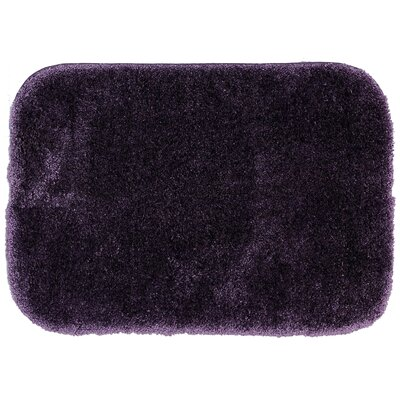 Spa Bath Rug Size: 18 x 210, Color: Purple