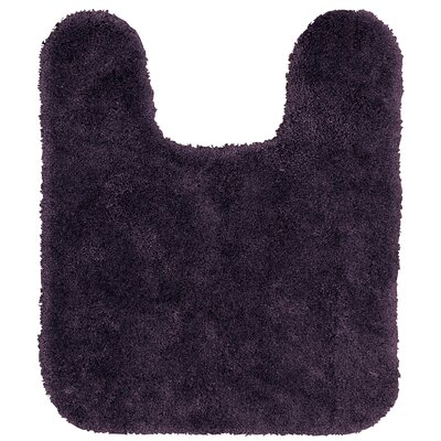 Spa Contour Mat Color: Purple