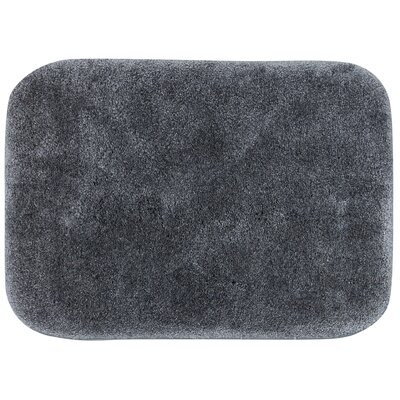 Spa Bath Rug Size: 18 x 210, Color: Gray