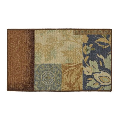 Soho Gwendolyn Blue/Brown Area Rug Rug Size: Rectangle 16 x 26