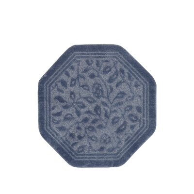 Wellington Bath Rug Color: Blue