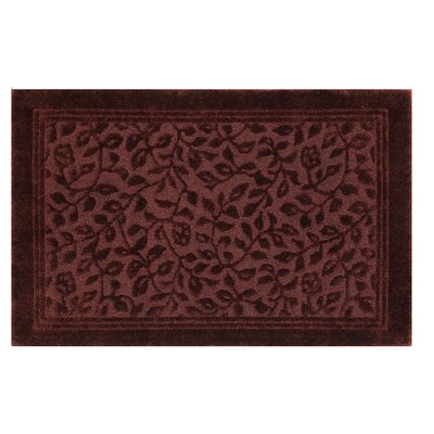 Wellington Bath Rug Color: Claret