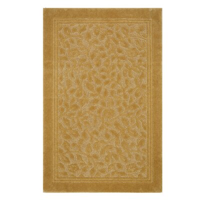 Wellington Bath Rug Color: Gold