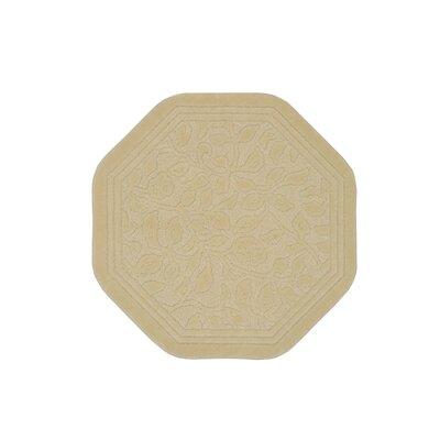 Wellington Bath Rug Color: Ivory