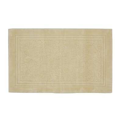 Wellington Bath Rug Size: 24 W x 40 L , Color: Ivory