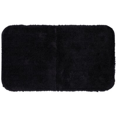 Lounger Bath Rug Size: 24 W x 39 L , Color: Black