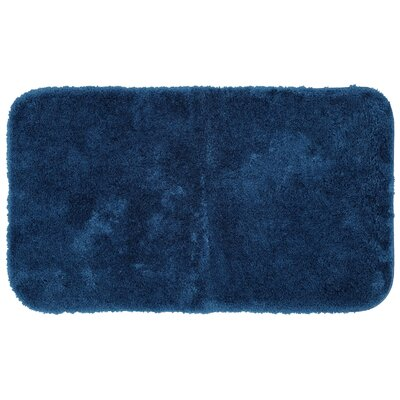 Lounger Bath Rug Size: 17 W x 32 L, Color: Navy