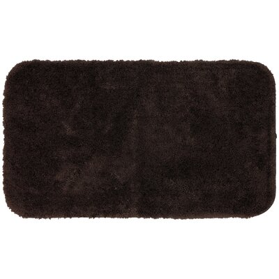 Lounger Bath Rug Size: 16 W x 24 L, Color: Dark Brown