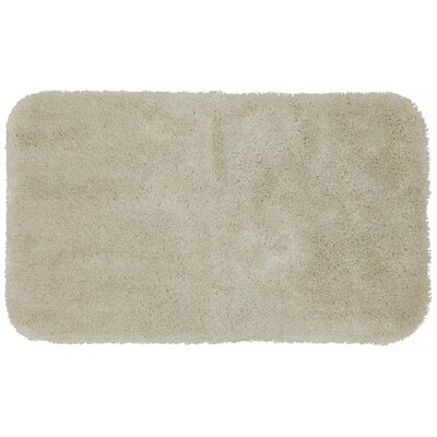 Lounger Bath Rug Size: 17 W x 32 L, Color: Cream