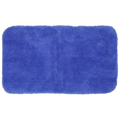 Lounger Bath Rug Size: 17 W x 32 L, Color: Dark Aqua