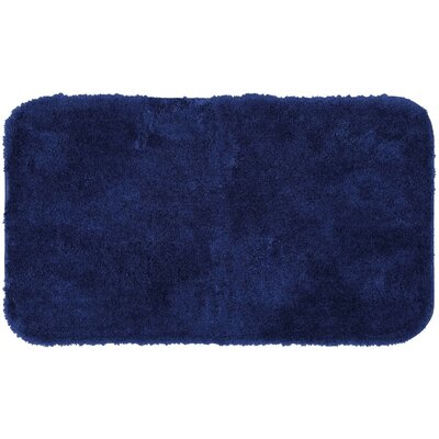 Lounger Bath Rug Size: 17 W x 32 L, Color: French Blue
