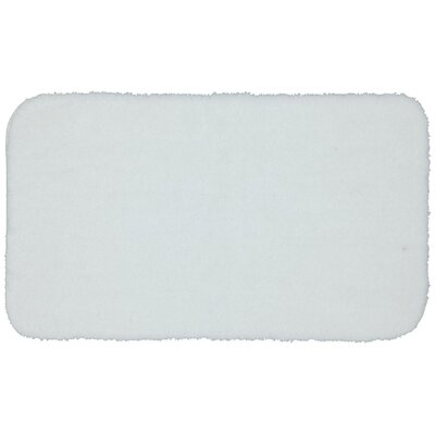 Lounger Bath Rug Size: 17 W x 32 L, Color: White