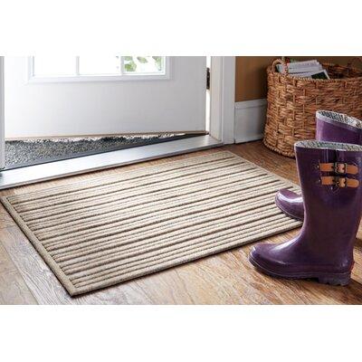 Impressions Doormat Rug Size: 2 x 3, Color: Chestnut